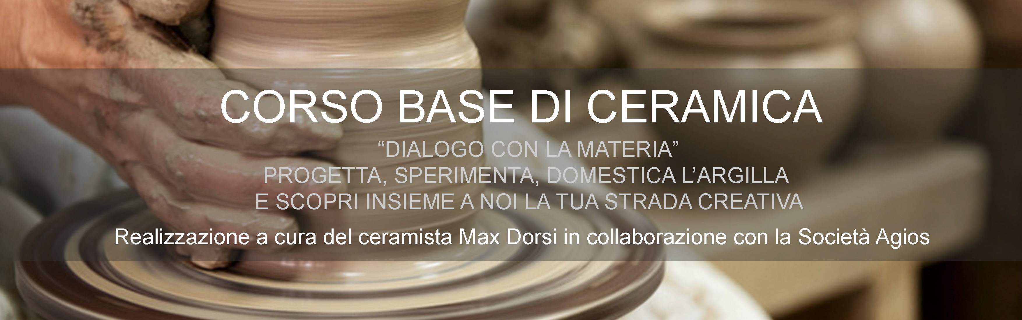 Corso ceramica base – febbraio 2016