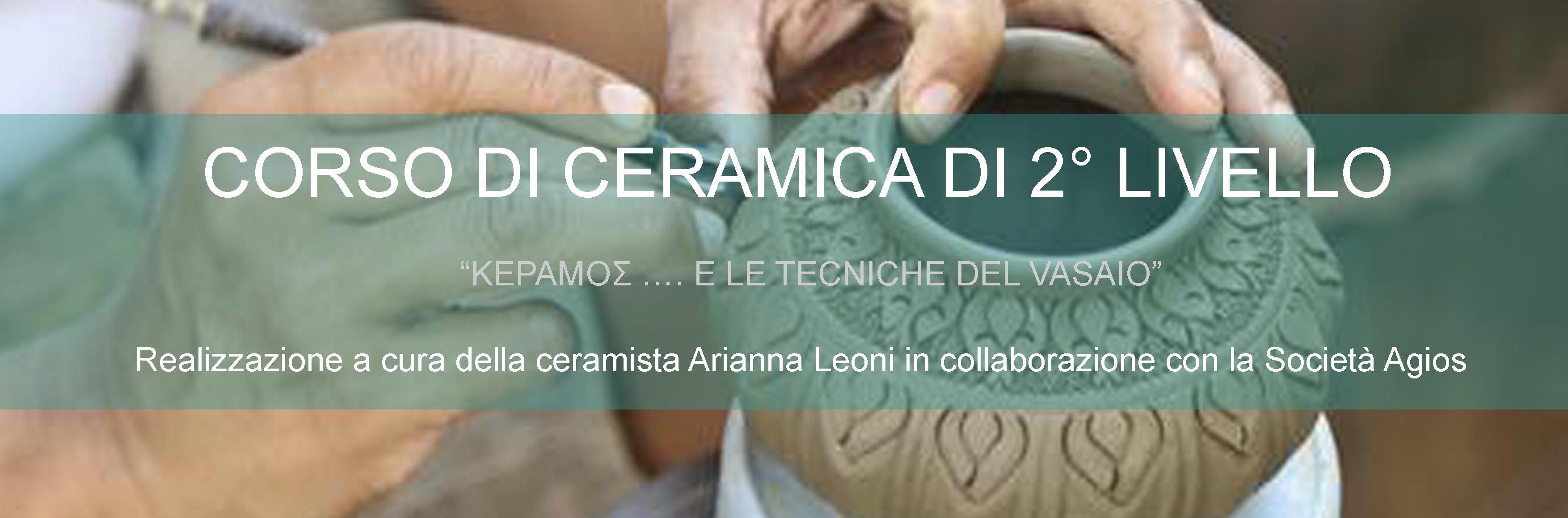 Corso ceramica 2 livello – febbraio 2016
