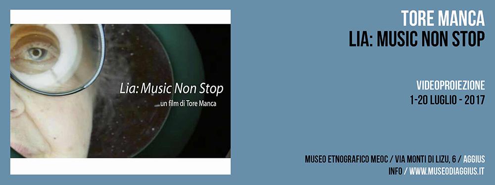 Proiezione Video / Tore Manca / Lia: Music non stop